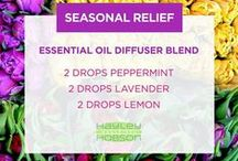 Essential Oil Diffuser recipes / What Essential Oils do you diffuse? Find more recipes here.