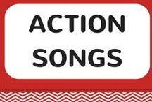 Kids Action Songs / Children will love to sing and dance along with the lively, upbeat kid's action songs. Each action song includes a FREE video song, FREE fun curriculum learning activities and FREE song lyrics.
