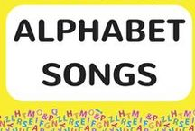 ABC Alphabet Songs / Learn the ABC alphabet and phonics the fun way. It's easy when kids link each letter with a sound. Each alphabet song download includes a FREE video song, FREE fun curriculum learning activities with the main focus on literacy and FREE PDF song lyrics #alphabet #literacy #abcs