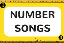 Number Songs / Counting has never been so much fun! Our number songs will get your kids counting in no time! Each counting song includes a FREE video song, FREE fun curriculum learning activities and FREE song lyrics.
