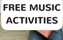 Free Fun Music Activities / Here's how we show you how to enhance each song with craft activities like drawing, painting, and sculpting, making puppets, making musical instruments and more! Kids will have loads of fun being creative!