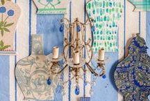 TUTTI IN RIGA! / Our new set by interior designer Enrica Stabile with ceramics by Zanellazine, clothes by Carla Saibene and flowers of Irene Cuzzaniti, La Fioreria Cuccagna
