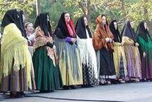 """Como volverte loca para vestirte de """"baturra"""". / Indumentaria aragonesa ò la moda de la moda de trajes de baturra."""