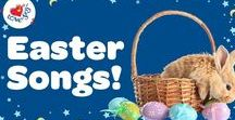 Easter Ideas for Kids / A collection of the best Easter songs for kids! Get into the Easter spirit with these super cute kid friendly songs