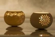 keramische sculpturen , potten  / by lievie scheffers