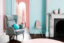 Pasteles / Decorar con colores pasteles, una opción atrevida y con personalidad