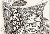 Zentangle ® original tiles The Zen-Art of my Soul / .. hier stelle ich euch meine Bilder vor.. ich wünsch euch viel Spaß beim Stöbern..  ihr findet mich auch bei facebook: https://www.facebook.com/pages/Siebenpfeile/480745942021762  #siebenpfeile #tangle #zentangle