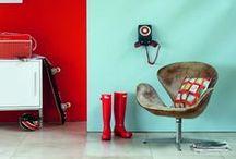 Decoración por contraste / Inspírate y decora tu hogar con colores en contraste.
