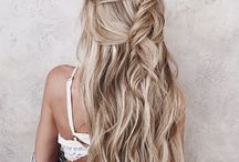 HAIR   Inspiration / Different styles for all types of hair