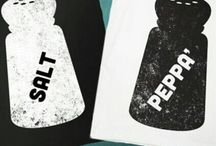 Salt & Pepper / Opposites attract, but they do have a few things in common!