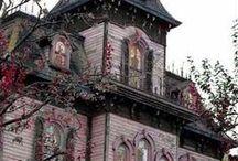 Creepy Victorian Houses