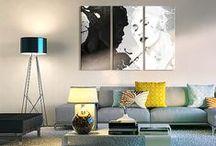 Bianco e nero / Il bianco e nero - binomio perfetto! Universale per ogni ambiente e stile di arredamento.