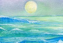 Color of Sea / Nahima's Art