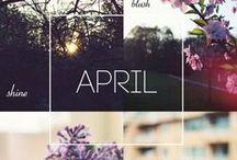 ♥ április