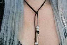 Simple beautiful necklace / necklace and necklace... make your beautiful necklace