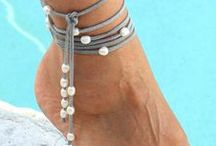 Simple beautiful anklet Idea / Nice design for your anklet