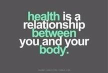 Being Healthy / Being healty is about habbit and lifestyle