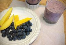 Smoothie ideas for in season produce. / Have a Vitamix, a hand held blender or old fashioned blender? Put it to work making healthy, energizing and flavorful drinks with in season produce.