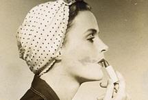 vintage fashion and beauty