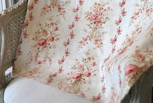 French fabric / antique French fabric