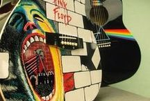 Guitar-riff-ic! / We love guitars. We know you love guitars. Guitars are the epitomy of rock and roll. This is where we show you some of the most custom, coolest, weirdest, craziest guitars on the planet!