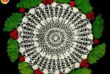 Crochet for christmas, easter and other seasonal crocheted products