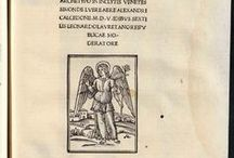 Colofones / Selección de colofones de algunas obras del S.XVI pertenecientes a la Biblioteca Universitaria de La Laguna