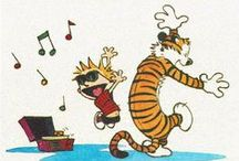 Calvin and Hobbes / Calvin and Hobbes is a fun, philosophical, and imaginative comic series by Bill Watterson.