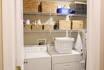 Laundry Room Storage / Make laundry day easier with these storage and organizing  solutions.