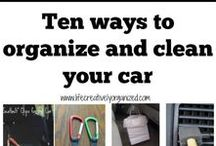 Car Storage / How to keep the inside of your car uncluttered and neat.