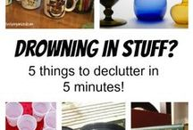 Declutter/Papers / How to sort through magazines, bills, & papers