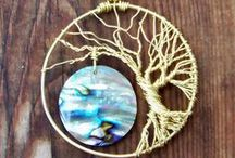 Arts & Crafts: Tree of Life / Tree of life, jewelry, and other decorations: beadwork, wire wrap, metal, other techniques
