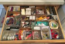 junk drawer storage / Great storage ideas and tips for organizing and decluttering your junk drawer (s).