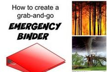 emergency/safety kits / Living in Florida, I know how important it is to have an emergency kit (especially during hurricane season), but it works just as well for any emergency - power outage, blizzard, fire, stuck in car, etc.