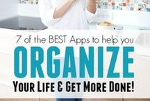 Organizing apps / Apps to help organize your home, time, schoolwork, budget, and your life in general :)
