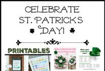 Irish/ Celtic/ St. Patrick's Day / Both of my parents' families come from Ireland, so we love to celebrate St. Patrick's Day. Here are fun ways to celebrate!