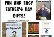 Mother's Day, Father's Day gifts / Create keepsake gifts that mom and dad will treasure forever.