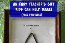 Gift ideas / Gift ideas for teachers, graduates, mom and dad and thank you gifts.