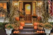 I love Fall / Ideas for Fall gardening, food, & especially decorations!