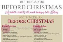 Christmas organizing & storage ideas / Christmas organizing tips and sheets & storage ideas