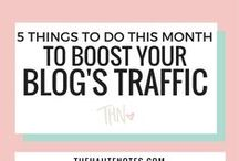 Grow your blog traffic / Great ideas to help grow your blog's traffic!