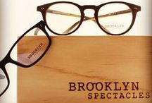 Our Wood Collection /  Materials + Sizing FAUX WOOD TECHNOLOGY  BROOKLYN SPECTACLES Wood Collection is not made with real timber. Instead, we use an acetate plastic surfaced with a wood-like finish. As such, you get the unique look of genuine wood, all while enjoying the comfort of the versatile synthetic material.