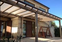 Pergole / realizzazione pergole per esterni in legno Great pergola idea with a sun shade #pergola #pergolas