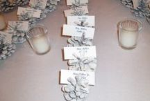 Wedding Place Card Tables