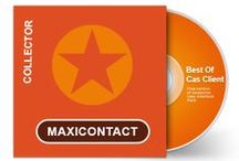 Call center Maxicontact #branding / Design Web & Print du call center Maxicontact : centre appel franco tunisien spécialiste externalisation relation client, phoning et generation de leads