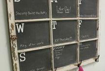 Chalkboards / Great chalkboards & chalkboard painted projects  / by Wonder Chalk Markers