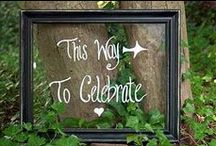 Wedding DIY Ideas & Signs / DIY & Craft projects & signs for Weddings / by Wonder Chalk Markers