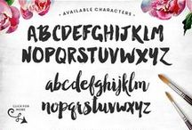type / typefaces • lettering • fonts