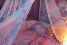 Habitación hippie
