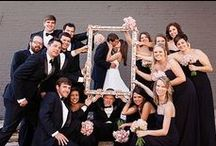wedding group shots / inspiration for cool wedding group shots...